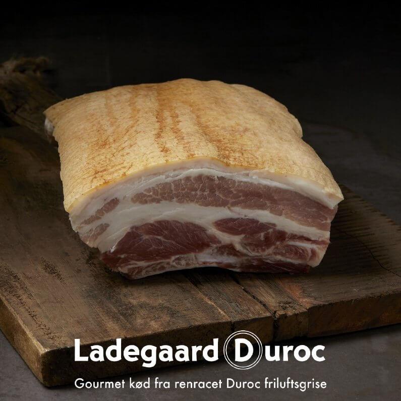 Ribbenssteg m/ svær & ben. Dansk krogmodnet fra Ladegaard Duroc