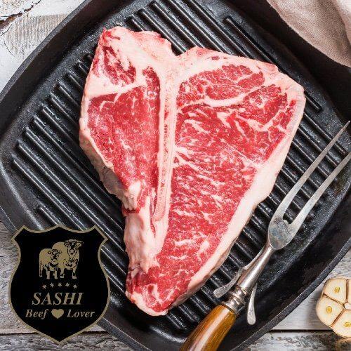 Sashi AAA T-Bone Steak. Finland