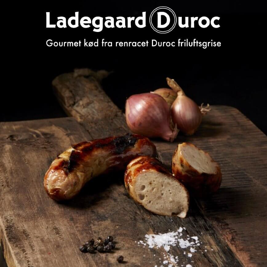Duroc Griller - Sønderjysk Ringridder. pakke m/4 styk, ialt 500 gram.