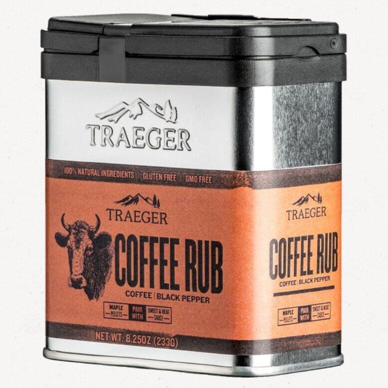 Traeger kaffe rub. 233 gram