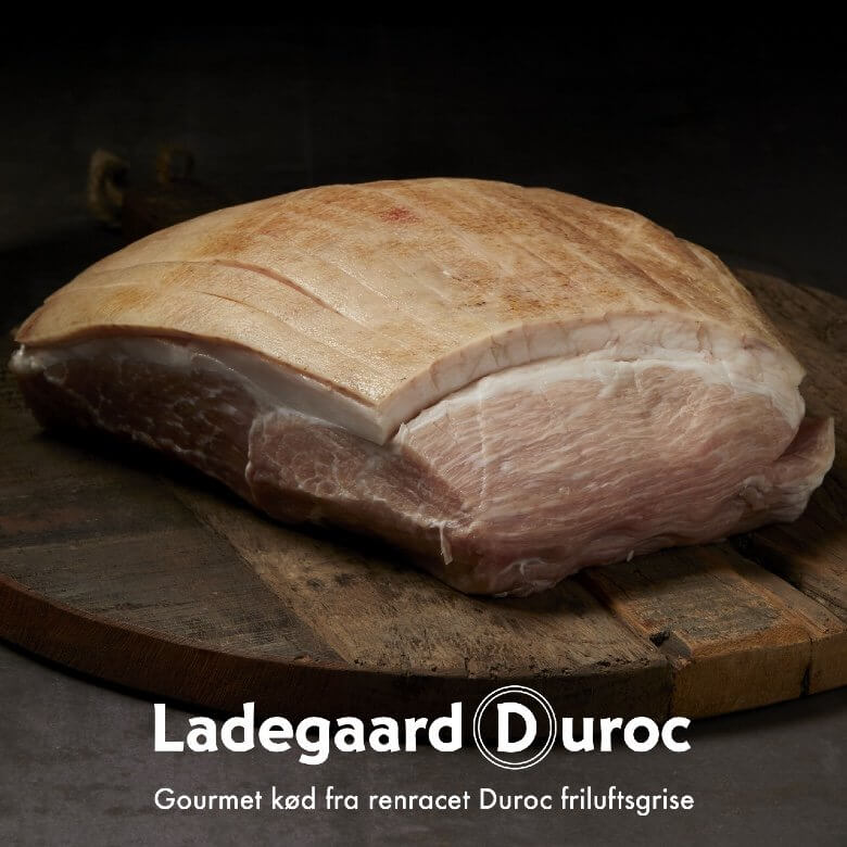 Skinkesteg. Dansk krogmodnet fra Ladegaard Duroc