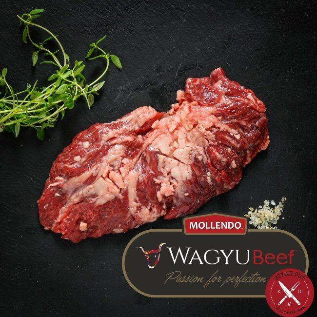 Spider Steak. Mollendo Wagyu MBS. 5+